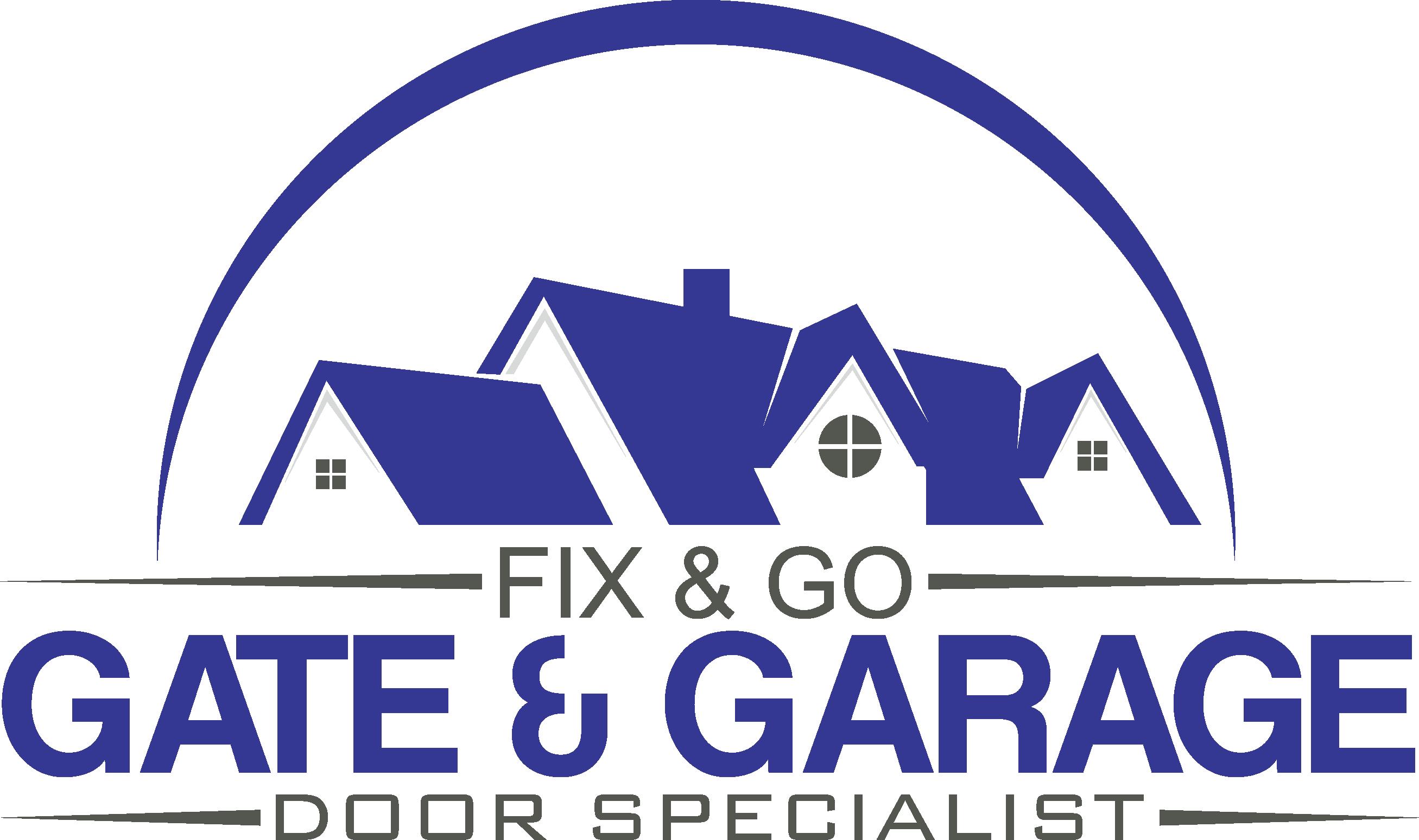 Garage door service logo - Logo Gate Services Garage Door Services